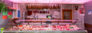Carnicería. Centro de caza Murieta Navarra